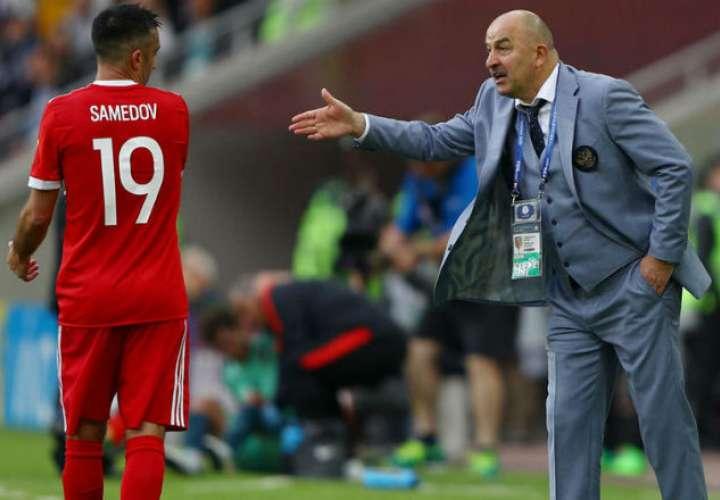 Stanislav Cherchesov quiere convertir a Rusia en el campeón del mundo
