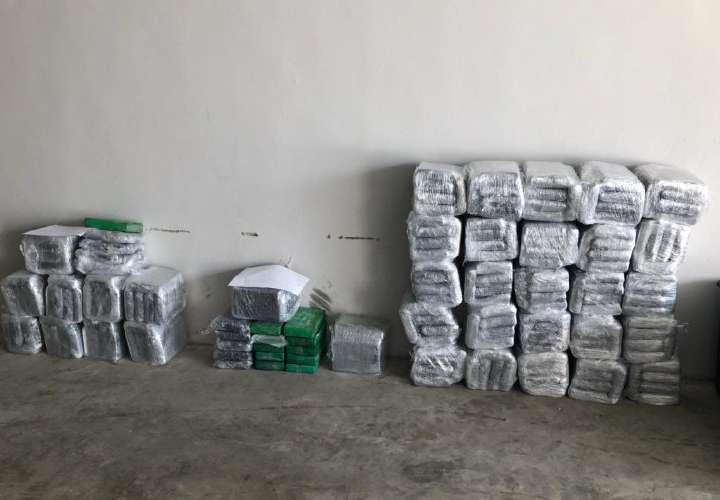 Confiscan 400 kilos de droga en Costa Rica y Panamá