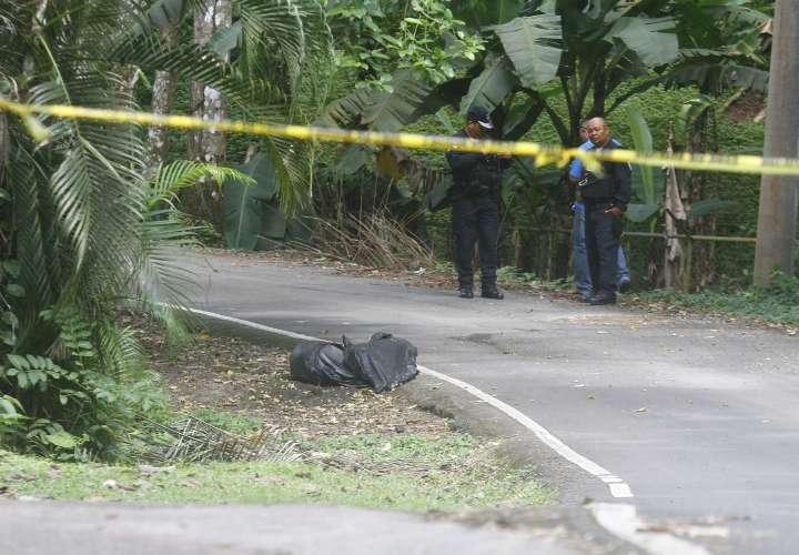 La muerte deambula en el área norte de Panamá