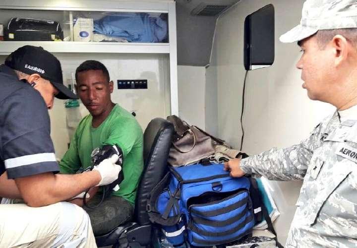 Rescatan a náufrago cerca de isla Otoque