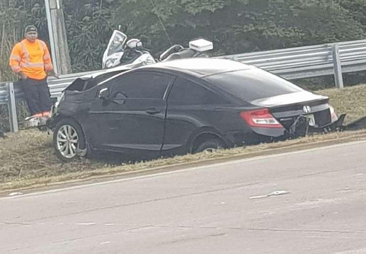 Accidente en Corredor Sur