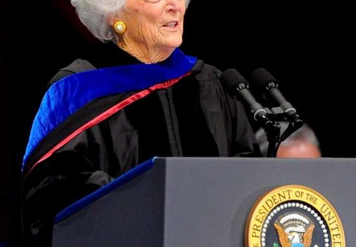 Fallece Bárbara Bush, ex primera dama de Estados Unidos
