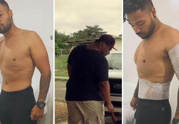 Michael Vega pierde 160 libras