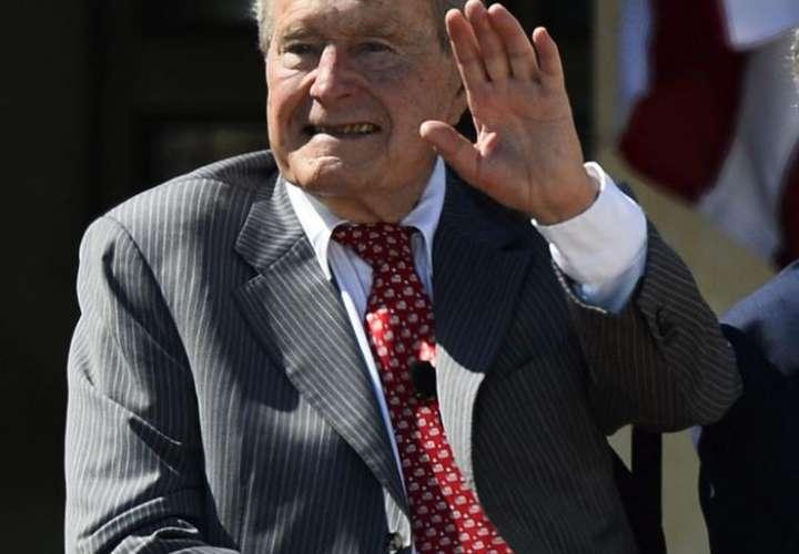 Fotografía del expresidente George H.W. Bussh. Foto/EFE
