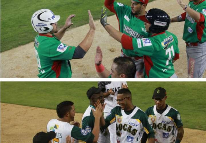 Las novenas de Chiriquí y Bocas del Toro están dando un buen espectáculo. Fotos: Anayansi Gamez