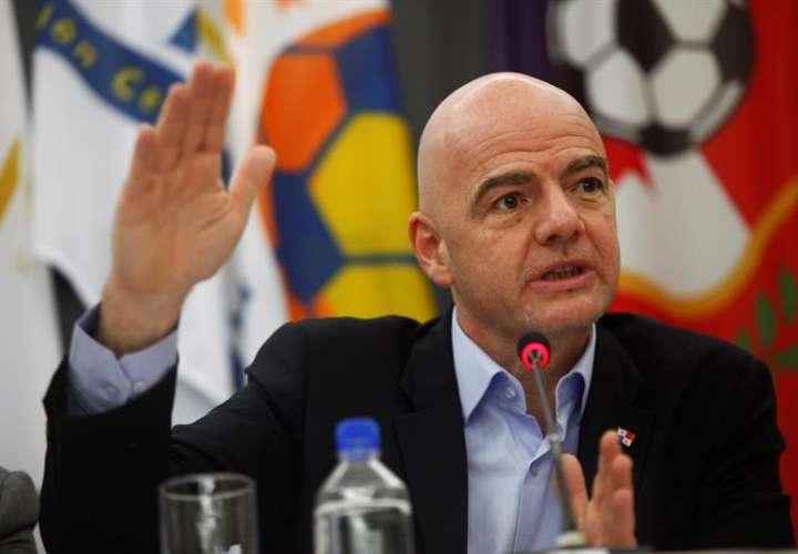 Infantino: Mundial con 48 equipos no se hará realidad en 2022 si Catar se niega