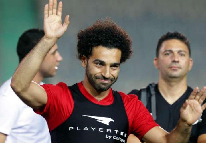 El jugador Mohamed Salah. Foto: EFE