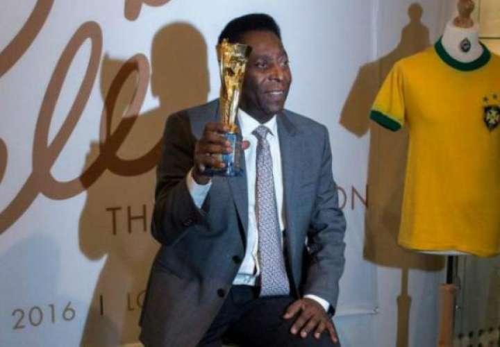 Pelé cancela visita a Rusia y es duda para la ceremonia inaugural