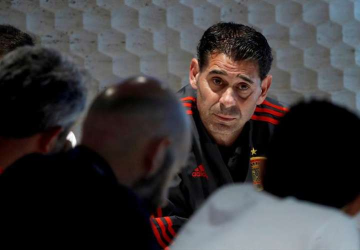 La selección de España se prepara para su próximo partido del Grupo B. Foto EFE