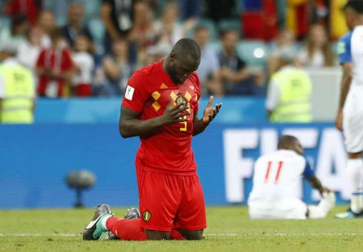 El goleador Romelu Lukaku.Foto: AP