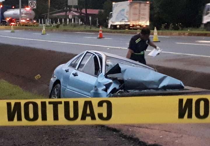 Dos muertos por accidente de tránsito en Chiriquí