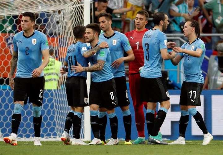 Uruguay y Rusia, primeras clasificadas para octavos en el Mundial de Rusia 2018