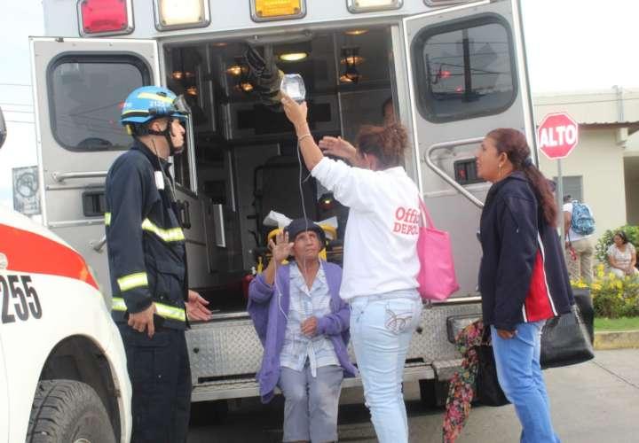 Evacúan pacientes de urgencias en Penonomé