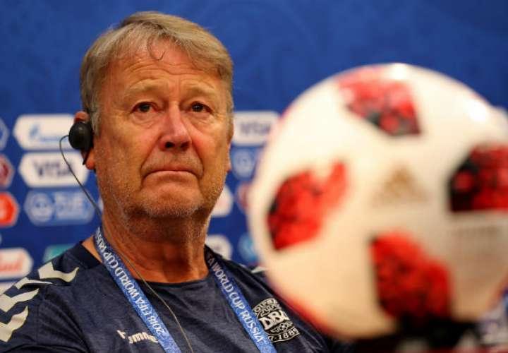 Age Hareide, seleccionador de Dinamarca. Foto:EFE