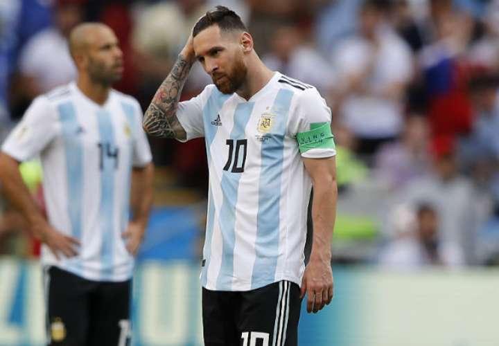 Lionel Messi, el jugador estrella de la selección de Argentina. Foto: AP