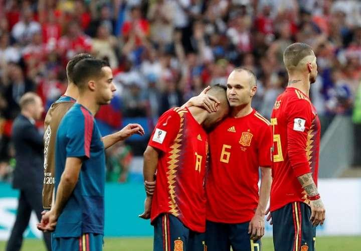 España, novena vez sin pasar de octavos de final en el Mundial
