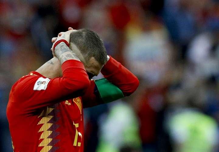 España, con récord de 1.031 pases, pero queda eliminado del Mundial Rusia 2018