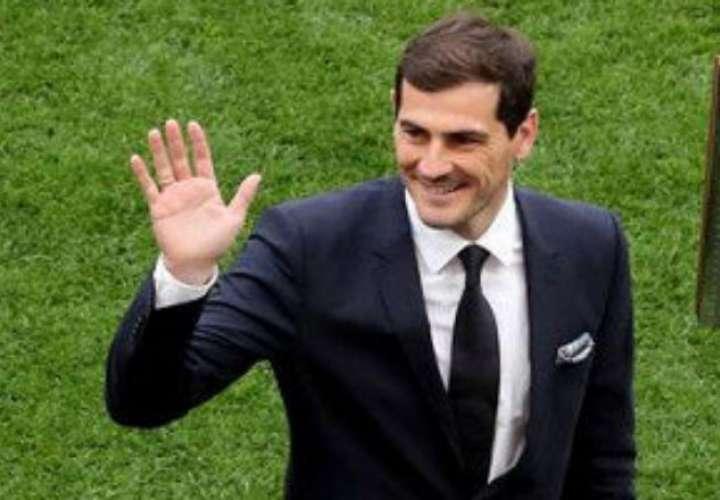 El exjugador Iker Casillas.