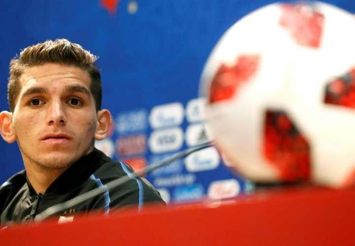 """Lucas Torreira:""""Hace poco estaba en quinta división, ahora en un Mundial"""""""
