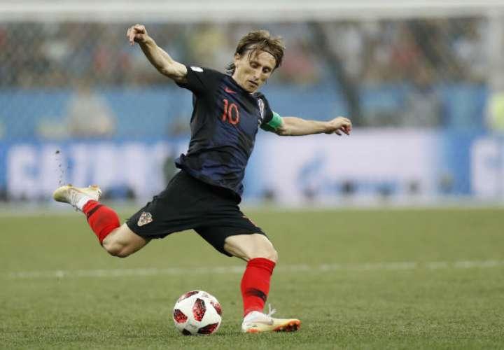 Luka Modric está disputando su tercera Copa del Mundo con Croacia.