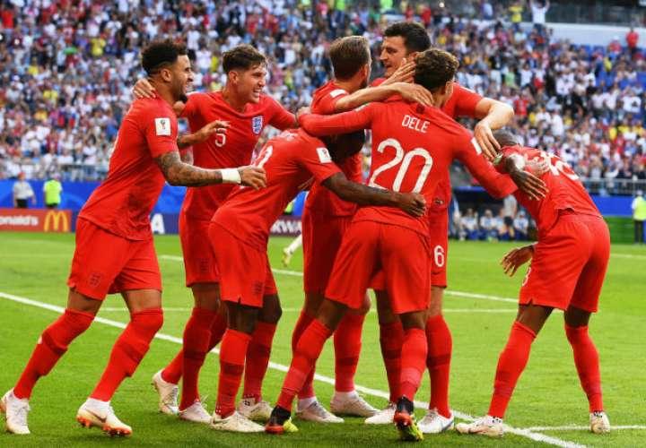 Inglaterra vuelve a una semifinal después de 28 años