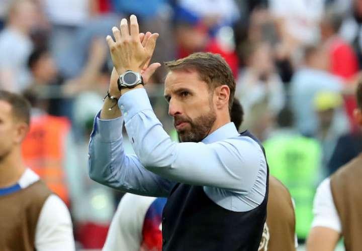 El entrenador Gareth Southgate.Foto:EFE