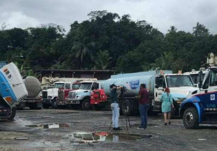 Proveedores de carros cisternas levantan paro