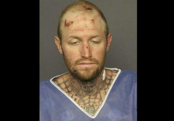 Thomas Busch, de 37 años, relacionado con el incidente. Foto: AP