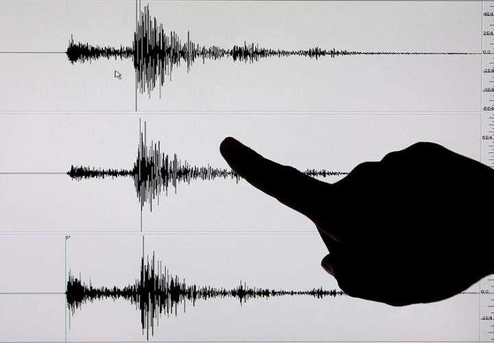 Imagen de un sismógrafo tras un terremoto de 6,7 grados de magnitud en la escala Richter. EFE/Archivo