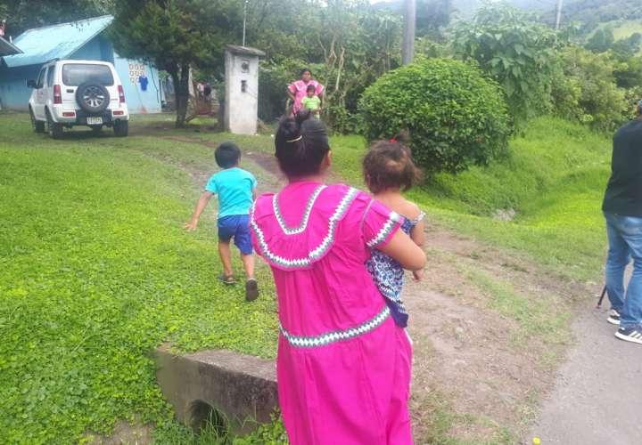 Senniaf inicia investigación por caso de niña hallada en vía en Boquete