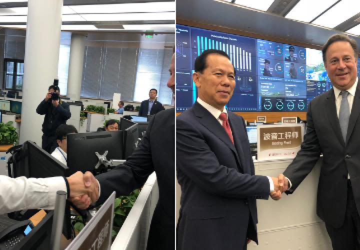 Varela promueve conexión Panamá-Shanghái en cita con directivos China Eastern
