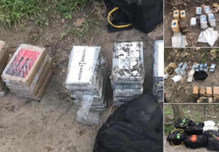 Decomisan 301 paquetes de cocaína en Río Hato