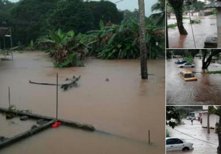 Sinaproc: 300 familias afectadas por lluvias en Colón
