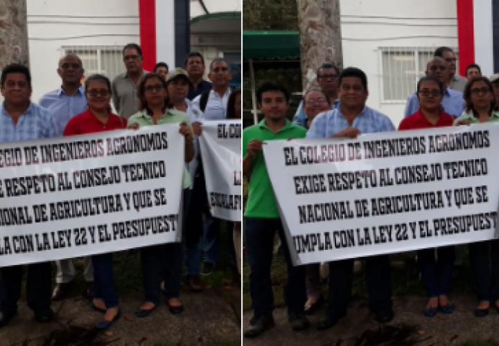 Agrónomos exigen cumplimiento del escalafón salarial