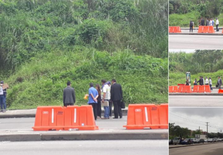 Reconstruyen accidente de tránsito donde murió estudiante de la UTP