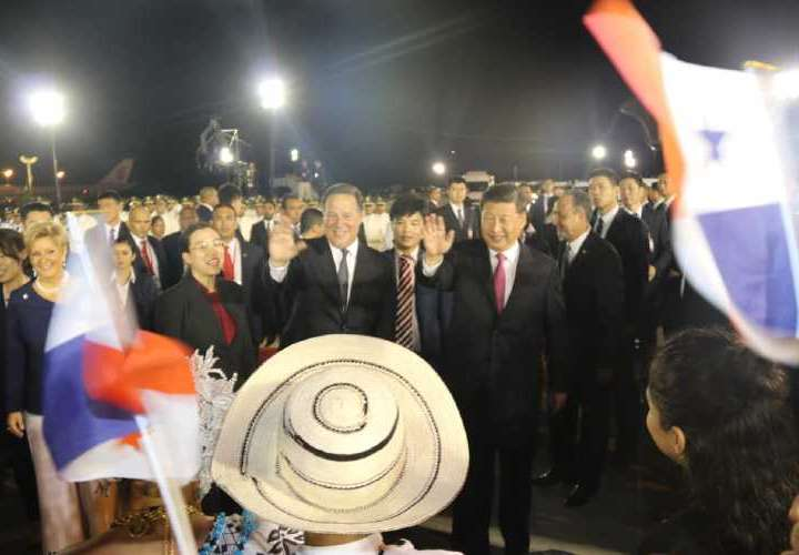 Xi propone relación de largo alcance con Panamá