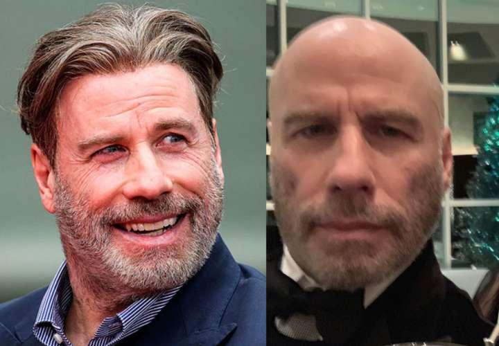 John Travolta dejó su melena en el pasado y ahora es calvo