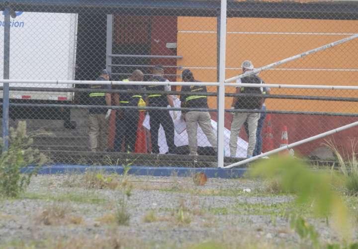 Vista general del área en donde ocurrió el homicidio. Foto: Edwards Santos