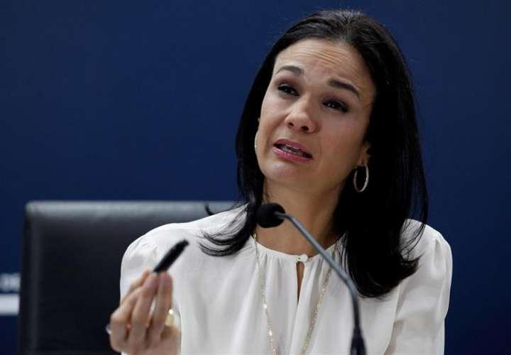 La vicepresidenta y canciller de Panamá, Isabel De Saint Malo. EFEArchivo