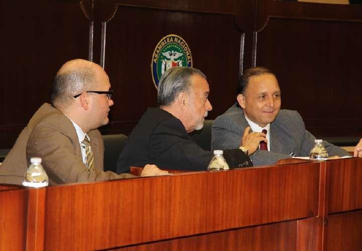 Magistrados del Tribunal Electoral.