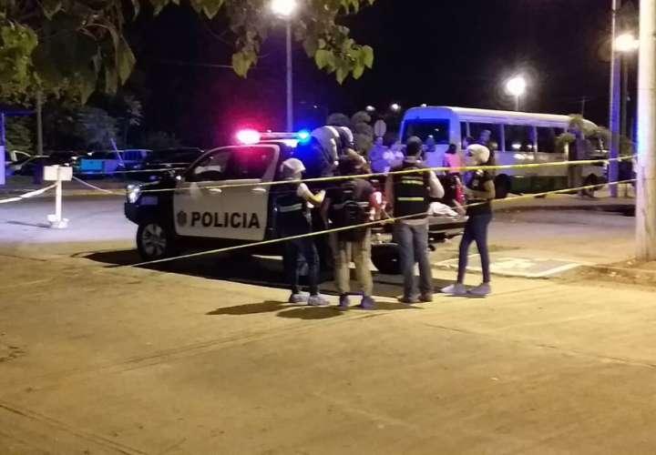 La víctima llegó sin signos vitales al hospital Rafael Hernández de David. Foto: Mayra Madrid
