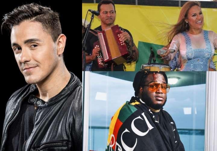 ¡Ya hay artistas! Carnaval con Joey Montana, Samy y Sandra, Sech y otros más