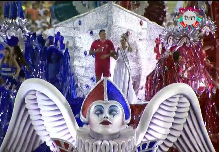 Rosa Iveth, Margarita, Erika, Blas y el resto, gozaron desfilar en Río