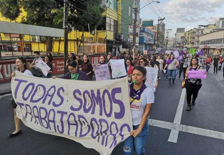 Diversas organizaciones participaron en la marcha: Fotos/Videos: Laura Marín