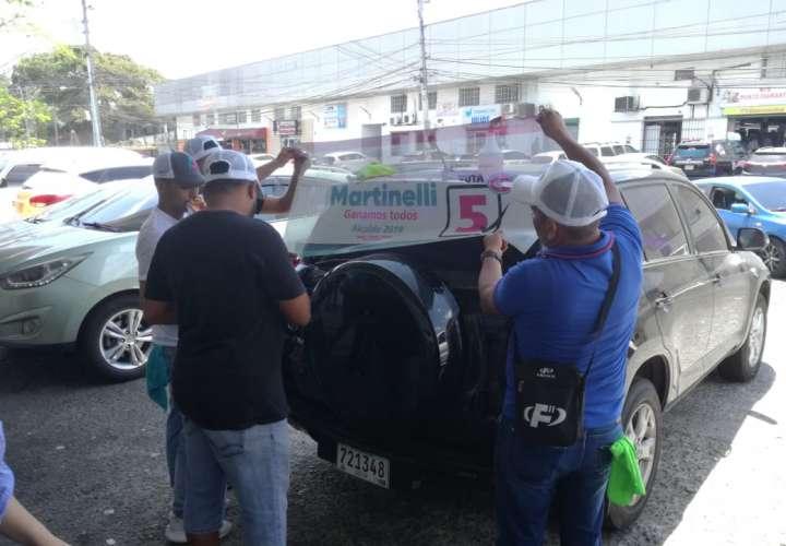 Panameños se identifican con candidatura de Martinelli para alcalde (Video)