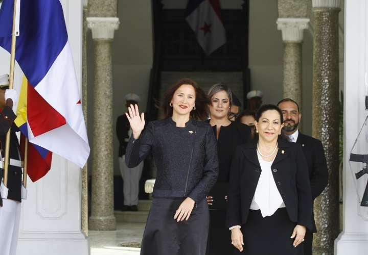 Embajadora de Venezuela en Panamá Fabioal Zavarce. Foto/ Edwards Santos