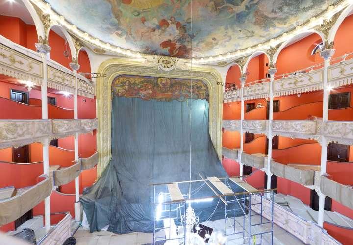 La obra es la restauración más completa realizada en los 110 años de historia que tiene este edificio.