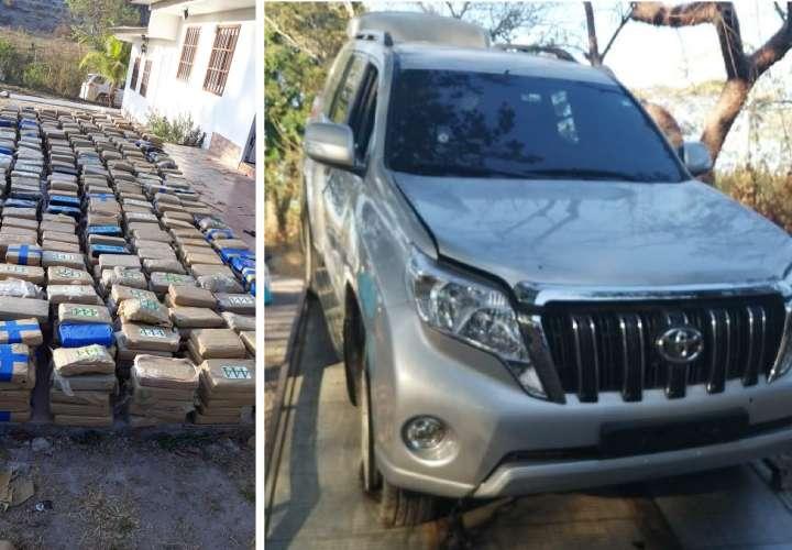 Caen 2 colombianos y 1 panameño con más de una tonelada de droga en San Carlos