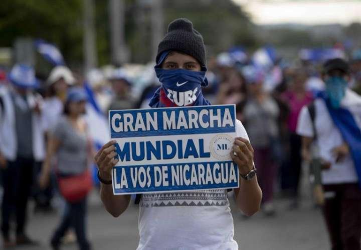 Nicaragüenses piden la renuncia de Ortega sin miedo a la represión