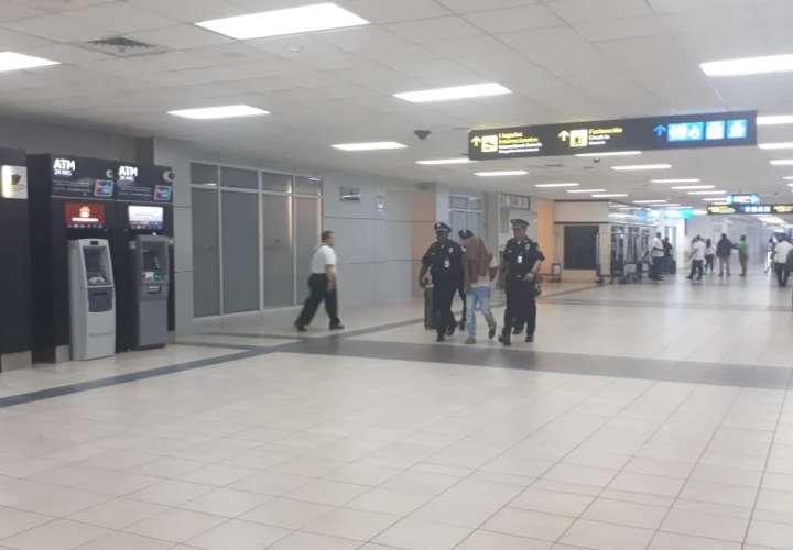 Le dan calle a aprehendido en Aeropuerto de Tocumen ¿Quién es?